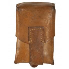 Serbische Patronentasche Leder 1-tlg. gebraucht