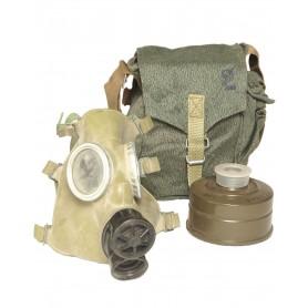 Polnische Schutzmaske MC-1, gebraucht (nur für Deko)