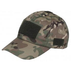 Einsatz-Cap mit Klett operation-camo