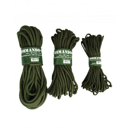 Commando Seil 15m Dicke 0,7cm oliv