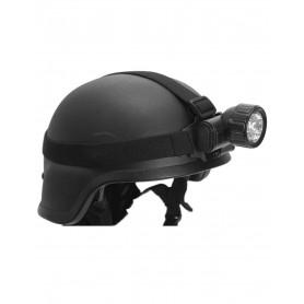 Kopflampe 12 LED schwarz