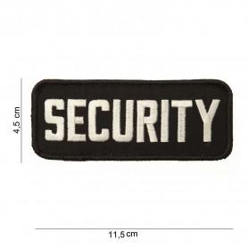 Securityaufnäher 4,5 x 11,5cm