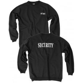Security Sweatshirt schwarz mit Druck