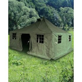 Militär-Mannschafts-Zelt neu 4,8m x 4,8m x 3,2m wie NVA