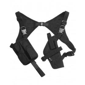 Schulterholster Cordura schwarz