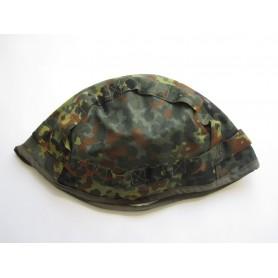 BW Helmtarnbezug für Gefechtshelm flecktarn, neu