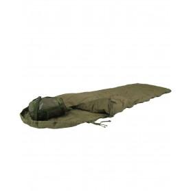 Brit. Tropenschlafsack oliv mit Packsack, gebraucht