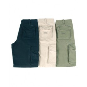 Aviator Shorts oliv washed