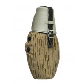 NVA Feldflasche mit Becher tarn, gebraucht