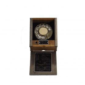 Schweizer Feldtelefon-Wählscheibe aus den 20ern, neuwertig