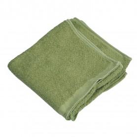 BW Handtuch Frottee 100 x 50 cm oliv, gebr.