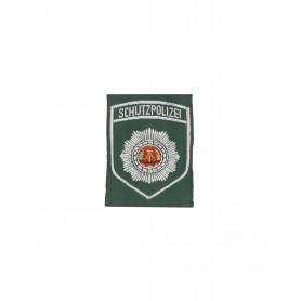 Volkspolizei Abzeichen Schutzpolizei grün