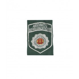 Volkspolizei Abzeichen Abschnittsbevollmächtigter