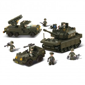 Sluban Army Set M38-B6800