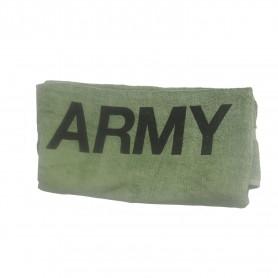 ARMY Duschtuch oliv