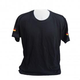 T-Shirt mit Hoheitsabzeichen, schwarz