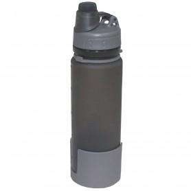 Trinkflasche faltbar Silikon 0,5L