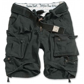 Surplus Division Shorts schwarz