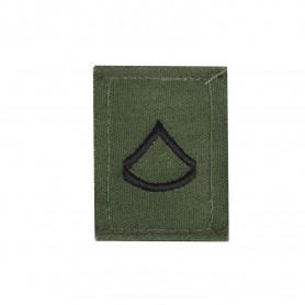 "US Rangabzeichen ""Private 1st Class"" Textil oliv"