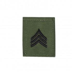 "US Rangabzeichen ""Sgt."" Textil oliv"