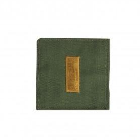 "US Rangabzeichen ""2nd Lieutenant"" Textil oliv"