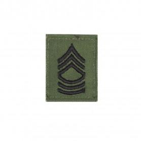 """US Rangabzeichen """"Master Sergeant"""" Textil oliv"""