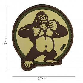 Patch 3D PVC King Kong sand