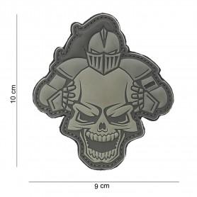Patch 3D PVC Knight grey