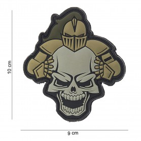 Patch 3D PVC Knight sand