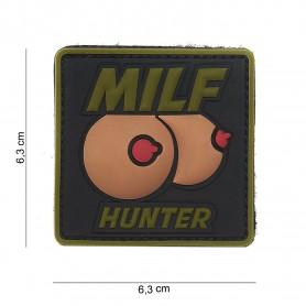 Patch 3D PVC Milf hunter green