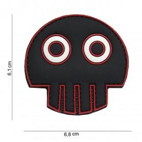 Patch 3D PVC Big eye skull
