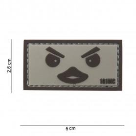 Patch 3D PVC Duckface sand