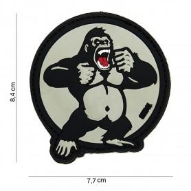 Patch 3D PVC King Kong white