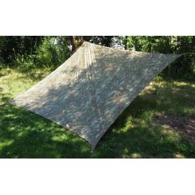 Shade Sail Schattensegel 3,6m x 3,6m camo