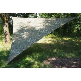 Shade Sail Schattensegel 4m x 4m x 4m camo