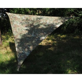 Shade Sail Schattensegel 3m x 3m x 3m camo