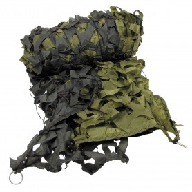 MFH Tarnnetz 3 x 2 m oliv mit PVC-Tragebeutel
