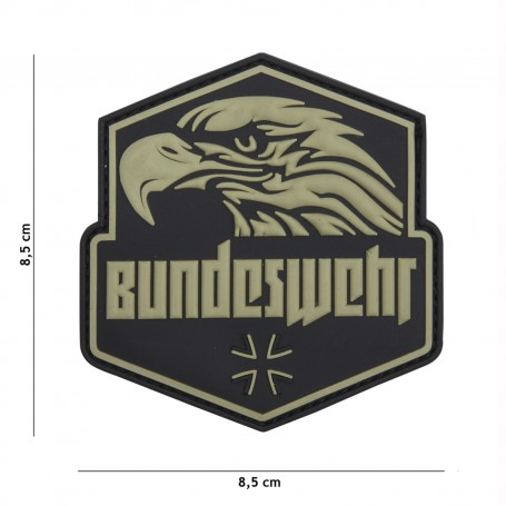 Emblem 3D PVC Bundeswehr green
