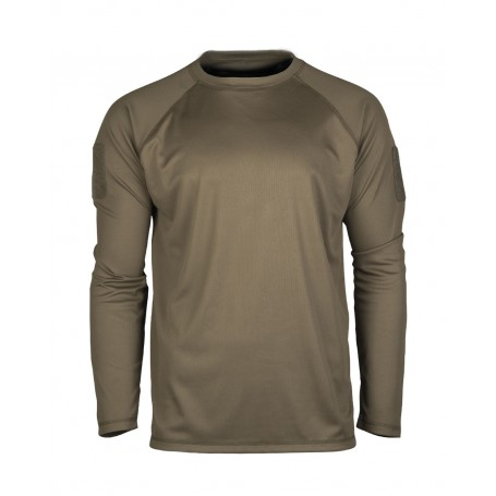 Tactical Quick Dry Langarmshirt oliv