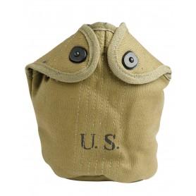 US Feldflaschenhülle M10 khaki (Repro)