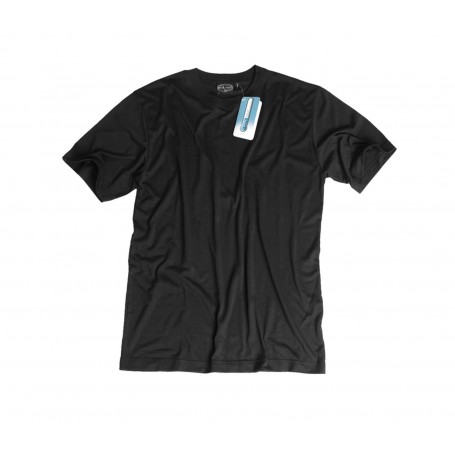 Unterhemd 1/2 Arm Coolmax schwarz