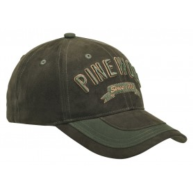 Pinewood® 2-Color Cap Wildlederbraun