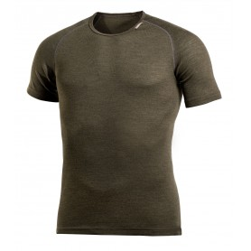 Woolpower Lite T-Shirt Pine Green Base Layer Unisex Herren