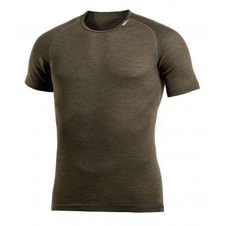Woolpower Lite T-Shirt Pine Green Base Layer Unisex Herren