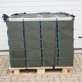 Munitionskiste mittel für 12,7mm x 99 / 100 Stück