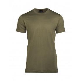 T-Shirt US Style steingrau-oliv 3er Pack
