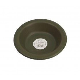 Highlander Teller tief, Kunststoff oliv