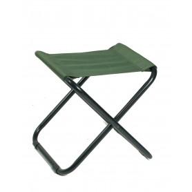 Camping Klappstuhl ohne Lehne oliv