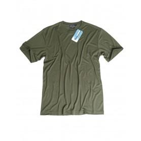 Unterhemd 1/2 Arm Coolmax oliv