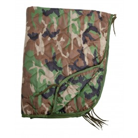 Poncho Liner Import Steppdecke woodland